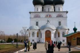Весна. Трифонов монастырь, hram-6269