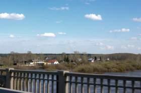 Весна. Река Вятка. Половодье., polov-6376