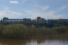 Весна. Река Вятка. Половодье., polov-6384