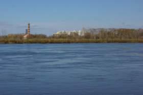Весна. Река Вятка. Половодье., polov-6423