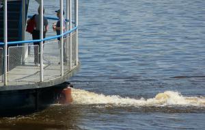 Фотопрогулка. Бывший порт. Река Вятка