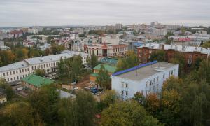 Вид на город с крыши Ростелекома, Вид на город с крыши Ростелекома