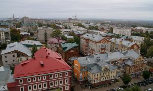 Вид на город с крыши Ростелекома, vt_kr-0213