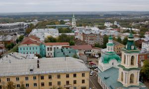 Вид на город с крыши Ростелекома, vt_kr-0220