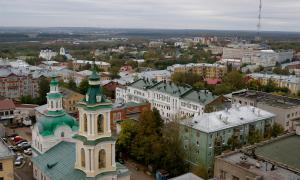 Вид на город с крыши Ростелекома, vt_kr-0221