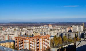 Вид на Киров с крыши, krp-00567