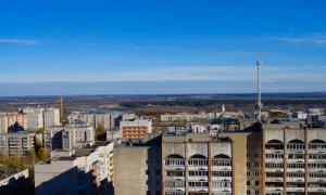 Вид на Киров с крыши, krp-00569