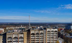 Вид на Киров с крыши, krp-00572