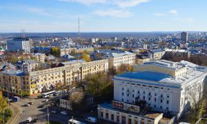 Вид на Киров с крыши, krp-00580