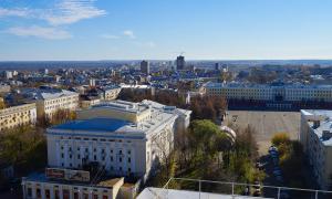 Вид на Киров с крыши, krp-00585
