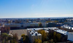 Вид на Киров с крыши, krp-00592