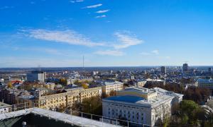 Вид на Киров с крыши, krp-00597