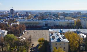 Вид на Киров с крыши, krp-00599