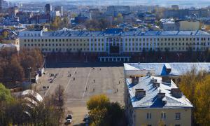 Вид на Киров с крыши, krp-00601