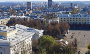 Вид на Киров с крыши, krp-00602
