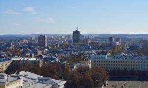 Вид на Киров с крыши, krp-00603