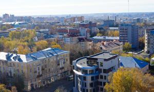 Вид на Киров с крыши, krp-00605