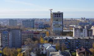 Вид на Киров с крыши, krp-00608