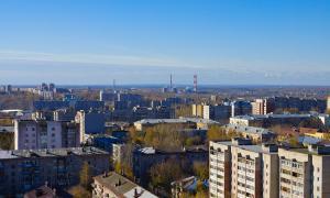 Вид на Киров с крыши, krp-00611