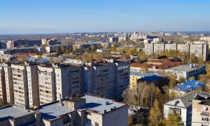 Вид на Киров с крыши, krp-00614
