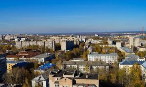 Вид на Киров с крыши, krp-00616