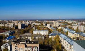 Вид на Киров с крыши, krp-00619
