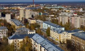 Вид на Киров с крыши, krp-00620