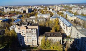 Вид на Киров с крыши, krp-00624