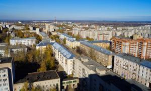 Вид на Киров с крыши, krp-00625