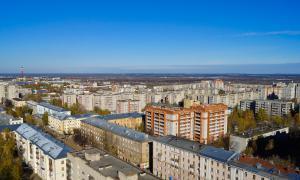 Вид на Киров с крыши, krp-00626