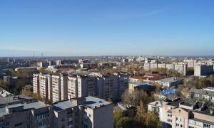 Вид на Киров с крыши, krp-00631