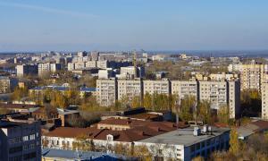 Вид на Киров с крыши, krp-00633