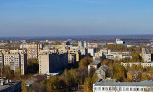 Вид на Киров с крыши, krp-00635