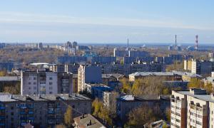 Вид на Киров с крыши, krp-00637