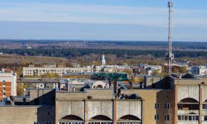 Вид на Киров с крыши, krp-00646