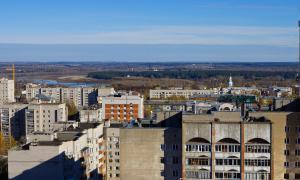 Вид на Киров с крыши, krp-00648