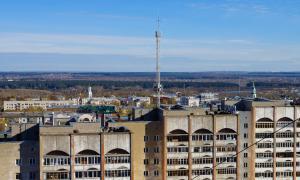 Вид на Киров с крыши, krp-00649