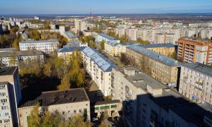 Вид на Киров с крыши, krp-00650