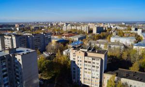Вид на Киров с крыши, krp-00653