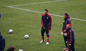 Лужники. Футбол Россия-Португалия, Футбол Россия-Португалия