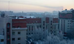 Вятка. Зимний город