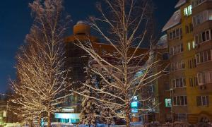 Вятка. Зима. Вечерний город, vtksv-050