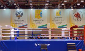 Чемпионате области по кикбоксингу, Дворец единоборств