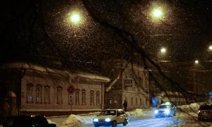 Зима. Вятка. Вечерний город-3, Зима. Вятка. Вечерний город-3