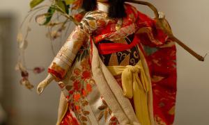 Традиционные куклы и игрушки Японии. С выставки