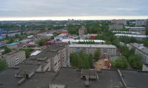 Несколько видов Кирова свысока, vidg-007