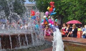 День города-2013. Праздник шаров, День города-2013