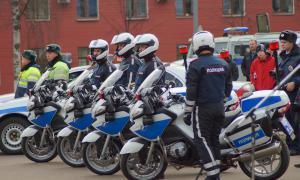 Мотоциклы BMW для нашей полиции