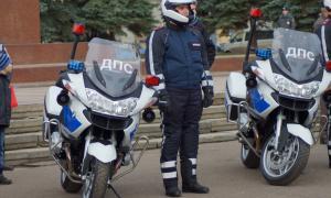 Мотоциклы BMW для нашей полиции, plm-025