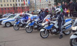 Мотоциклы BMW для нашей полиции, plm-044